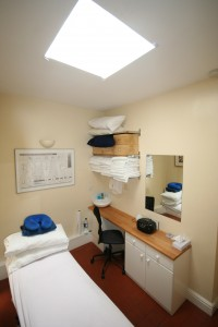 Treatment room cabin